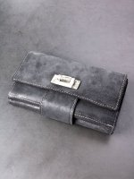 【incarnation】HORSE BUTT LEATHER WALLET LARGE #2 /BLACK