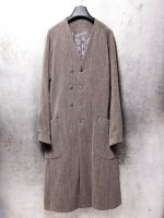 【DEVOA】Coat wool/cotton raschel knit /BROWNGRAY<img class='new_mark_img2' src='//img.shop-pro.jp/img/new/icons1.gif' style='border:none;display:inline;margin:0px;padding:0px;width:auto;' />