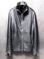 【incarnation】SHEEP SHEALING HIGH NECK ZIP BLOUSON /BLACK<img class='new_mark_img2' src='//img.shop-pro.jp/img/new/icons1.gif' style='border:none;display:inline;margin:0px;padding:0px;width:auto;' />
