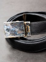 【incarnation】HORSE LEATHER BELT GI SMALL /BLACK<img class='new_mark_img2' src='//img.shop-pro.jp/img/new/icons1.gif' style='border:none;display:inline;margin:0px;padding:0px;width:auto;' />
