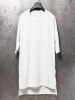 【nude:mm】スペインピマハイゲージ裏毛NUDEバックプリントルーズTEE  /WHITEGREY<img class='new_mark_img2' src='//img.shop-pro.jp/img/new/icons1.gif' style='border:none;display:inline;margin:0px;padding:0px;width:auto;' />