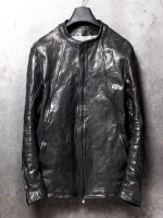 【incarnation】HORSE LEATHER MOTO #4 LINED /BLACK