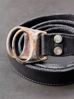 【incarnation】CARF LEATHER BELT D-RING #2 /BLACK<img class='new_mark_img2' src='//img.shop-pro.jp/img/new/icons1.gif' style='border:none;display:inline;margin:0px;padding:0px;width:auto;' />