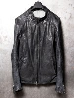 【incarnation】CARF LEATHER LAGRAN DARTS SHOULDER BLOUSON E/E LINED /BLACK<img class='new_mark_img2' src='//img.shop-pro.jp/img/new/icons1.gif' style='border:none;display:inline;margin:0px;padding:0px;width:auto;' />