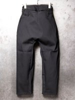 【incarnation】CO96% EL4% PANTS FLAT /BLACK<img class='new_mark_img2' src='//img.shop-pro.jp/img/new/icons1.gif' style='border:none;display:inline;margin:0px;padding:0px;width:auto;' />