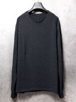 【DEVOA】Long sleeve wool / alpaca jersey (Loose fit) /BLACK<img class='new_mark_img2' src='//img.shop-pro.jp/img/new/icons1.gif' style='border:none;display:inline;margin:0px;padding:0px;width:auto;' />