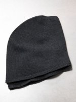 【DEVOA】Knit cap double layer /BLACK<img class='new_mark_img2' src='//img.shop-pro.jp/img/new/icons1.gif' style='border:none;display:inline;margin:0px;padding:0px;width:auto;' />