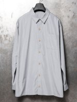 【IS】COTTON BOIL SHIRT /GRAY<img class='new_mark_img2' src='//img.shop-pro.jp/img/new/icons1.gif' style='border:none;display:inline;margin:0px;padding:0px;width:auto;' />
