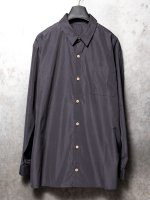 【IS】COTTON BOIL SHIRT /BLACK