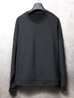 【IS】COTTON SWEAT LS /BLACK<img class='new_mark_img2' src='//img.shop-pro.jp/img/new/icons1.gif' style='border:none;display:inline;margin:0px;padding:0px;width:auto;' />
