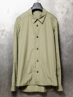 【DEVOA】Shirt 120/2 egyptian cotton (FINX) (Loose fit) /OLD KHAKI<img class='new_mark_img2' src='//img.shop-pro.jp/img/new/icons53.gif' style='border:none;display:inline;margin:0px;padding:0px;width:auto;' />