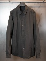 【DEVOA】Shirt silk cotton sandblast /CHARCOAL<img class='new_mark_img2' src='//img.shop-pro.jp/img/new/icons1.gif' style='border:none;display:inline;margin:0px;padding:0px;width:auto;' />