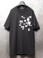 【nude:mm×PR-y】30/-度詰天竺エンブロイダリーTEE [OGAWA SHOYO] /BLACK×WHITE<img class='new_mark_img2' src='//img.shop-pro.jp/img/new/icons1.gif' style='border:none;display:inline;margin:0px;padding:0px;width:auto;' />