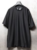 【IS】COTTON JERSEY TEE /BLACK