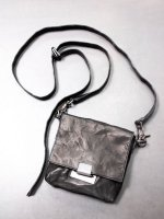 ★在庫あり【iolom】別注Mini square shoulder bag /BLACK