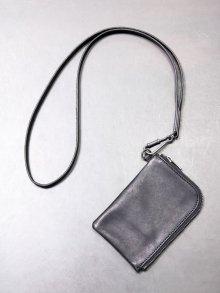 ★在庫あり【iolom】別注Neck strap+coin purse /BLACK