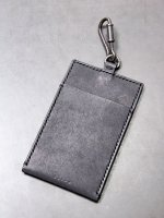 ★受注生産【iolom】別注Charm ID CARD case /BLACK