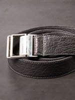 【incarnation】HORSE LEATHER BELT M /WORKER /D.GRAY