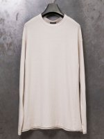 【DEVOA】Knit cotton cashmere /WHITE GRAY<img class='new_mark_img2' src='//img.shop-pro.jp/img/new/icons1.gif' style='border:none;display:inline;margin:0px;padding:0px;width:auto;' />