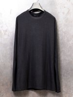 【DEVOA】Knit cotton cashmere /BLACK<img class='new_mark_img2' src='//img.shop-pro.jp/img/new/icons1.gif' style='border:none;display:inline;margin:0px;padding:0px;width:auto;' />