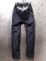 【incarnation】12oz DENIM COTTON 100% PANTS LONG DARTS SKINNY /INDIGO