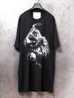【nude:mm×NO MA(N)D'S LAND】OVER SIZE EAGLE PRINT SHORT SLEEVE T /BLACK<img class='new_mark_img2' src='//img.shop-pro.jp/img/new/icons1.gif' style='border:none;display:inline;margin:0px;padding:0px;width:auto;' />