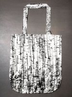 【nude:mm×NO MA(N)D'S LAND】コットンジャガード FOREST PRINT トートバッグ  /FOREST