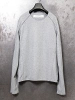 【individualsentiments】WOOL CASHMERE JERSEY LS /LIGHT GRAY