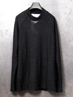 【nude:mm】WOOL SLAB JERSEY HIGH NECK T SHIRT /BLACK<img class='new_mark_img2' src='//img.shop-pro.jp/img/new/icons1.gif' style='border:none;display:inline;margin:0px;padding:0px;width:auto;' />