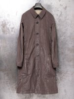 ▼ 21SS 【DEVOA】Coat light weight high density Co Pe /MUD GRAY