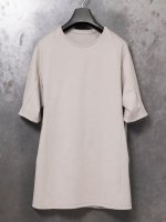 【DEVOA】Short sleeve cotton jersey (Mocrody) /STONE GRAY<img class='new_mark_img2' src='https://img.shop-pro.jp/img/new/icons1.gif' style='border:none;display:inline;margin:0px;padding:0px;width:auto;' />