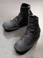 【incarnation】HORSE LEATHER SIDE ZIP SHORT LINED LEATHER SOLES PIECE DYED /BLACK REVERSE<img class='new_mark_img2' src='https://img.shop-pro.jp/img/new/icons1.gif' style='border:none;display:inline;margin:0px;padding:0px;width:auto;' />