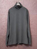 【DEVOA】Highneck egyptian cotton inderlock jersey (SUVIN) /PETROLIO