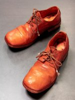 【incarnation】HORSE LEATHER DERBY #2 LINED LEATHER SOLES PIECE DYED  /D.ORANGE