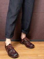 【incarnation】HORSE LEATHER DERBY #2 LINED LEATHER SOLES PIECE DYED  /BROWN<img class='new_mark_img2' src='https://img.shop-pro.jp/img/new/icons1.gif' style='border:none;display:inline;margin:0px;padding:0px;width:auto;' />