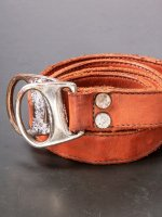 【incarnation】CARF LEATHER BELT D-RING #2 /D.ORANGE<img class='new_mark_img2' src='https://img.shop-pro.jp/img/new/icons1.gif' style='border:none;display:inline;margin:0px;padding:0px;width:auto;' />