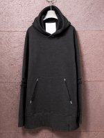 【nude:mm】Jumbo Fleecy Knit Garment Dyeing Parka /BLACK<img class='new_mark_img2' src='https://img.shop-pro.jp/img/new/icons1.gif' style='border:none;display:inline;margin:0px;padding:0px;width:auto;' />