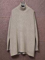 【DEVOA】Knit highneck long sleeve merino wool /BEIGE GRAY<img class='new_mark_img2' src='https://img.shop-pro.jp/img/new/icons1.gif' style='border:none;display:inline;margin:0px;padding:0px;width:auto;' />