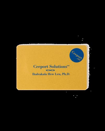Ceeport カード ゴールド