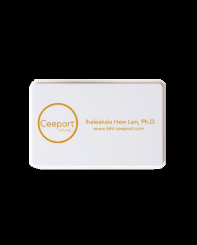 Ceeport カード ホワイト