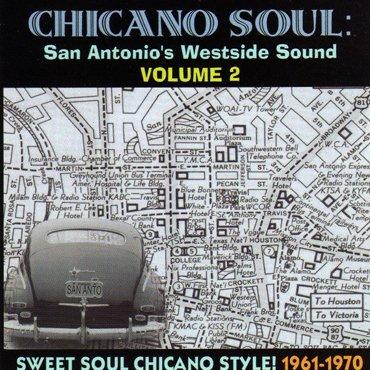 V.A. ■ CHICANO SOUL : San Antonio Westsidesound Vol.2 【CD】