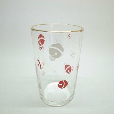 佐々木硝子 ドラえもんの鈴柄 グラス