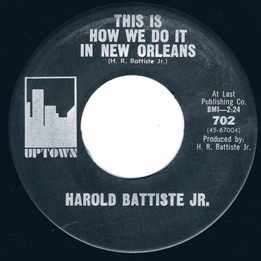 HAROLD BATTISTE JR. ■ This Is How We...