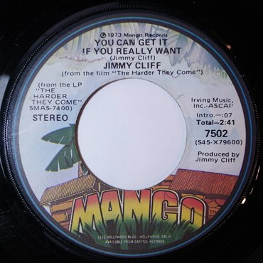 JIMMY CLIFF / MAYTALS ■ You Can Get ...