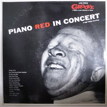 PIANO RED ■ In Concert