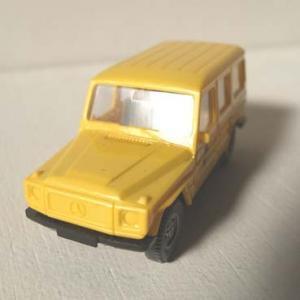 WIKING製 DBP(ドイツ連邦郵便)車両のジープ モデルカー (MB-Jeep)