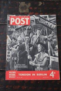 イギリス「PICTURE POST」1948年7月10日号 TENSION IN BERLIN