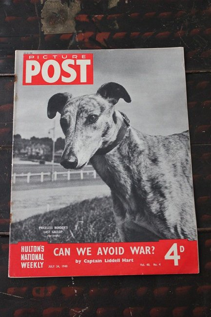 イギリス「PICTURE POST」1948年7月24日...