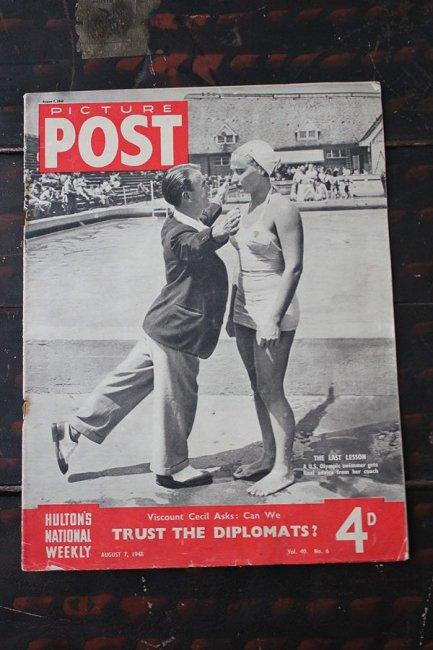 イギリス「PICTURE POST」1948年8月7日...