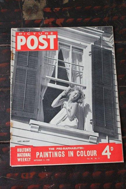 イギリス「PICTURE POST」1948年9月11日...